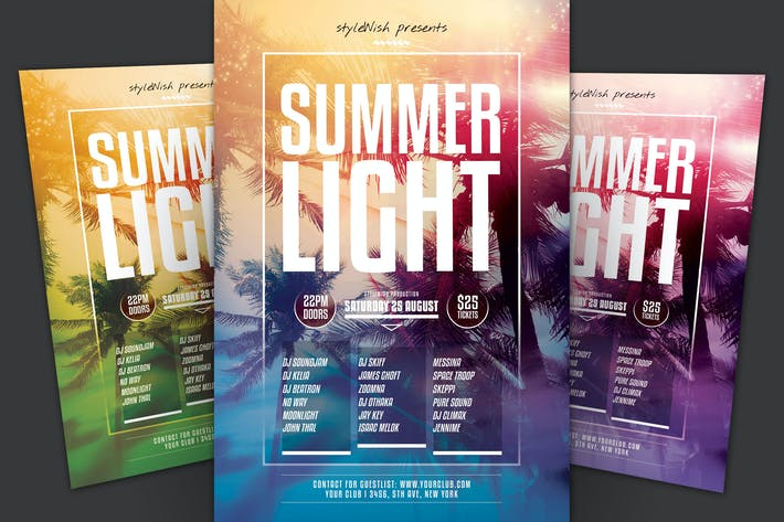 Thumbnail for Summer Light Flyer