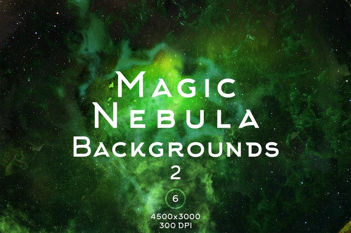 Thumbnail for Magic Nebula Backgrounds 2