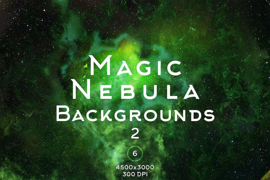 Magic Nebula Backgrounds 2