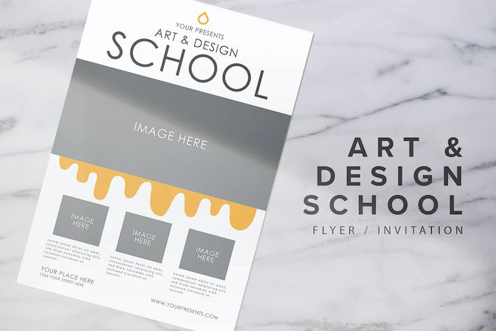Cover Image For School Flyer