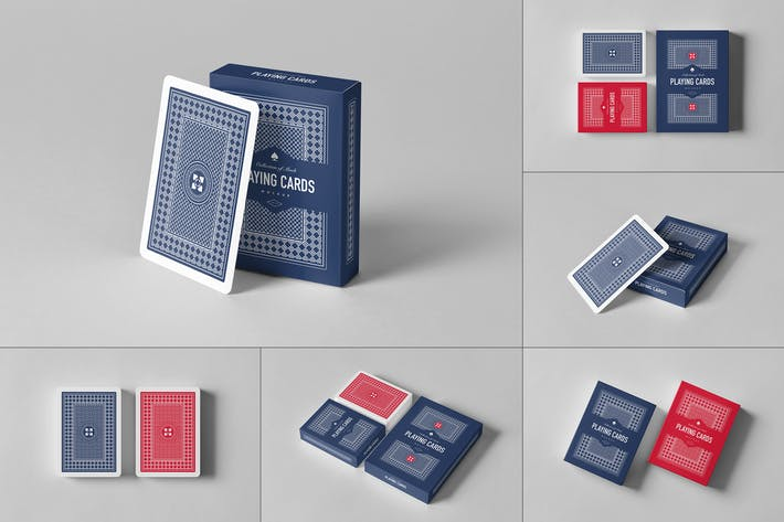 Thumbnail for Playing Card Mock-up