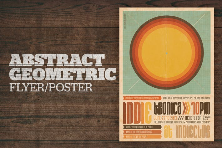 Thumbnail for Abstract Geometric Poster