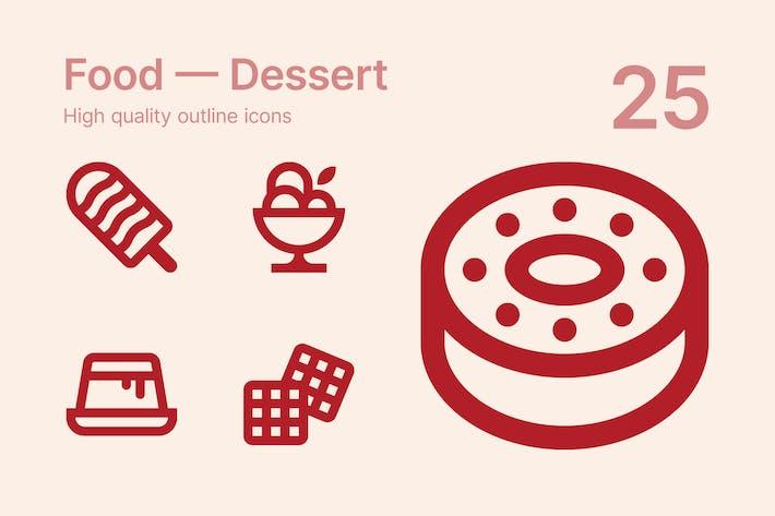 Thumbnail for Food — Desert #2