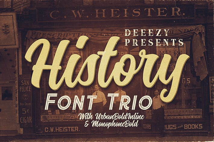 Thumbnail for History Font Trio