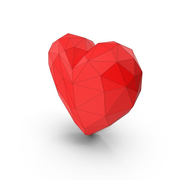 Cover Image for Heart Low Poly