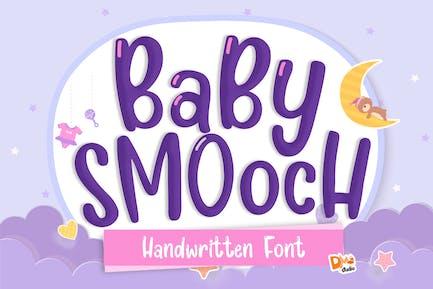 Baby Smooch Handwritten Display Font