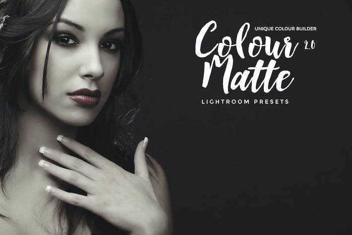 Cover Image For Colour Matte Lightroom Presets Vol. 2