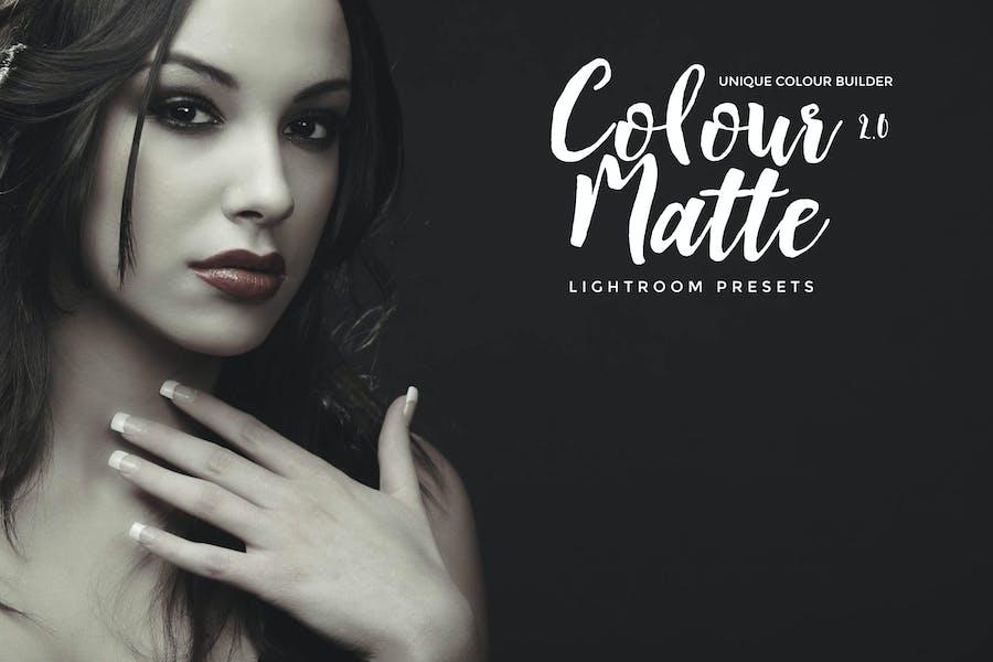 Colour Matte Lightroom Presets Vol. 2