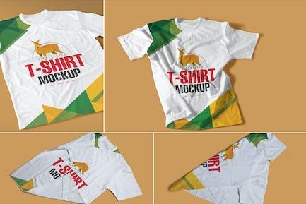 Round-Neck T-Shirt Mockups