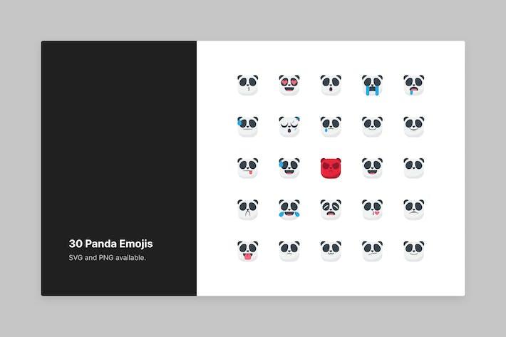 Süße Panda Emojis