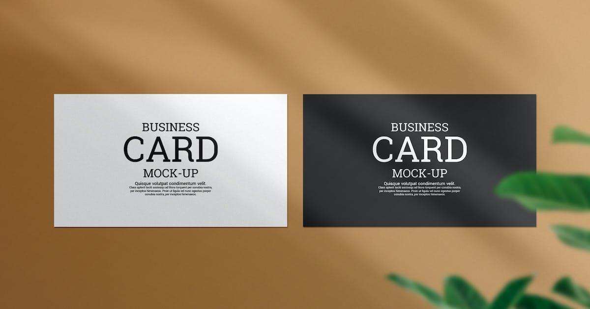 Download Clean minimal business card mockup m1 by PrexTheme