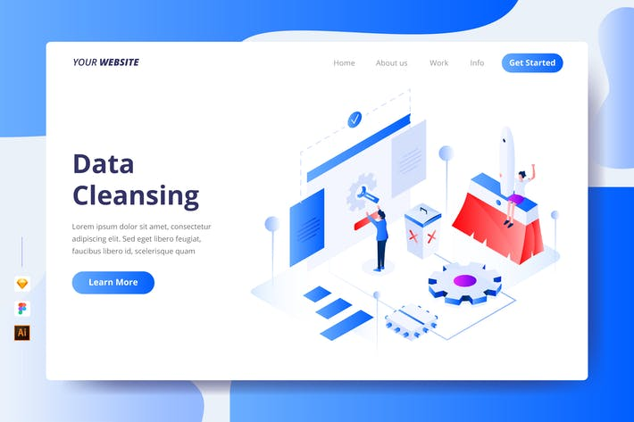 Thumbnail for Data Cleansing - Landing Page