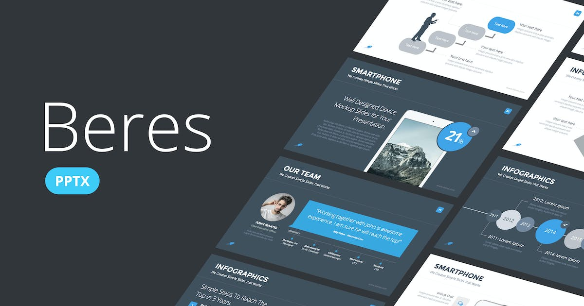 Download Beres - Powerpoint Template by Slidehack