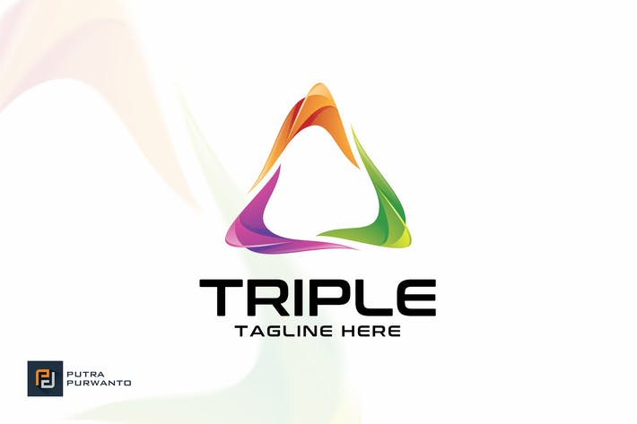 Thumbnail for Triple - Logo Template