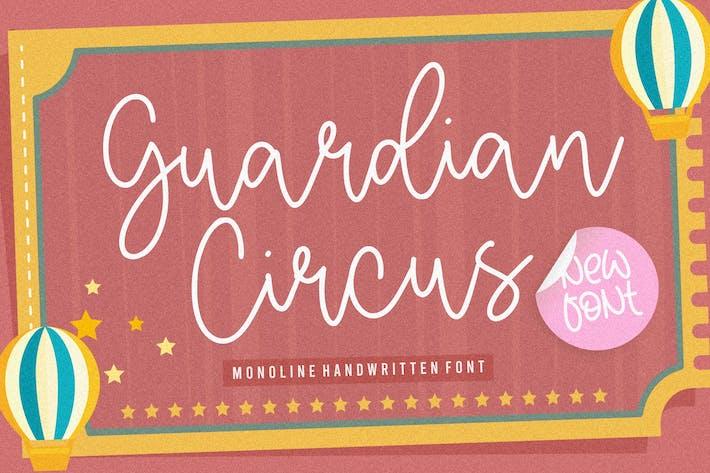 Guardán Circus Script Fuente YH