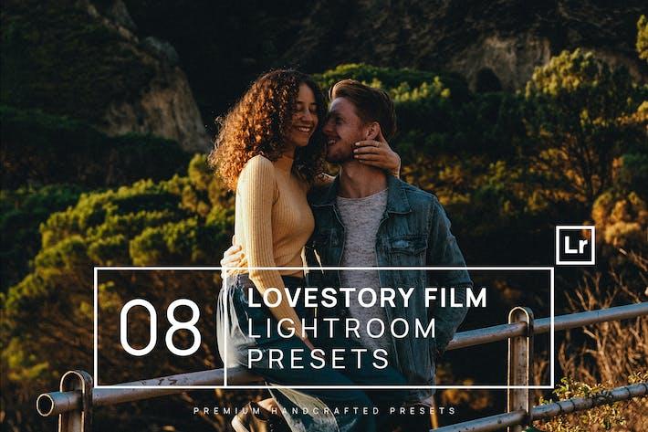 Thumbnail for 8 Lovestory Film Lightroom Presets + Mobile