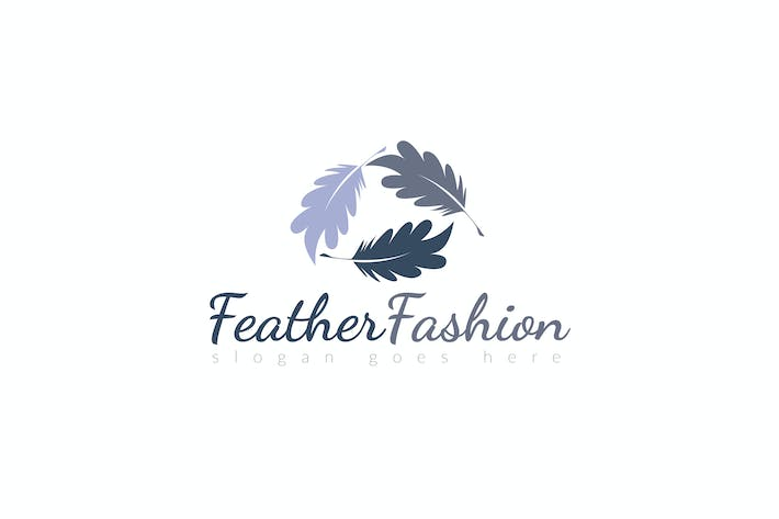 Thumbnail for Feather Logo Template