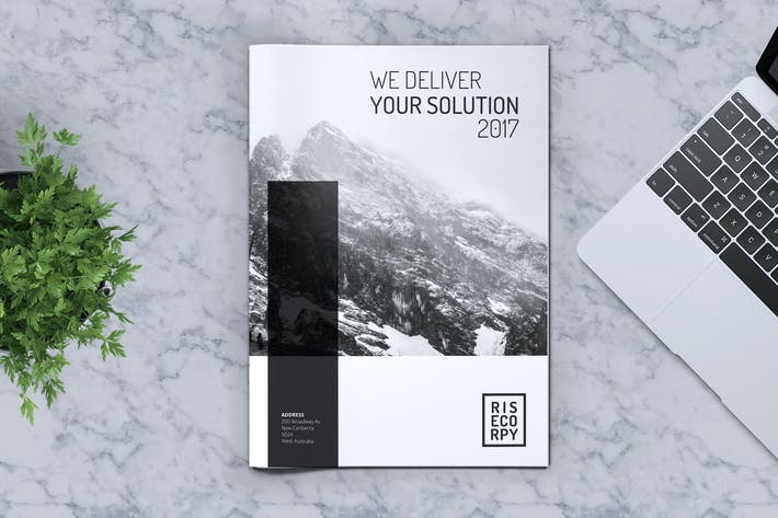 Thumbnail for Creative Brochure Template Vol. 32