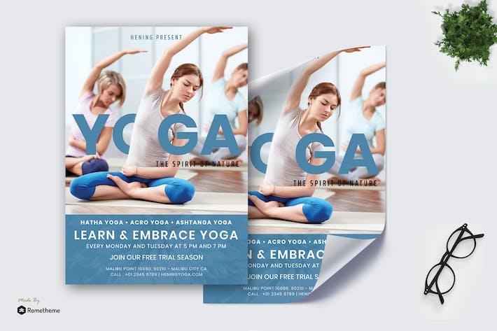 Thumbnail for Hening Yoga Vol.01 - Poster RB