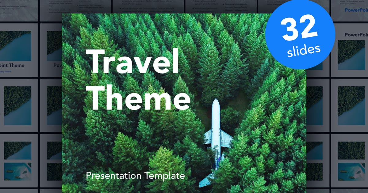 Download Avid Traveler PowerPoint Template by Jumsoft