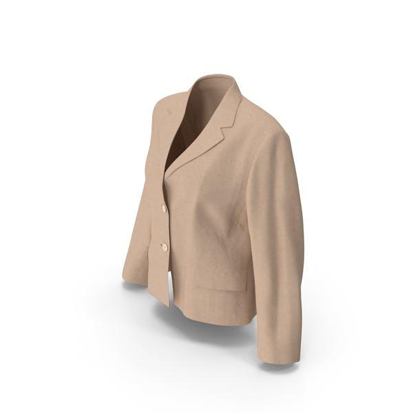 Thumbnail for Women's Blazer Beige