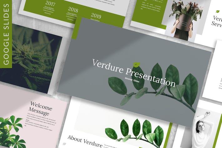 Thumbnail for Verdure - Business Google Slide Template