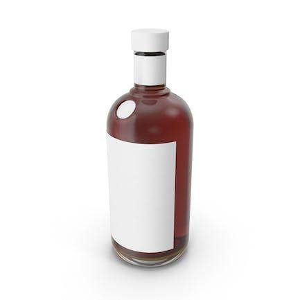 Cognac Bottle Mockup