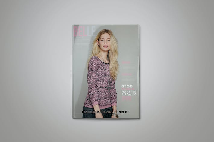 Thumbnail for Fashion InDesign Magazine Template