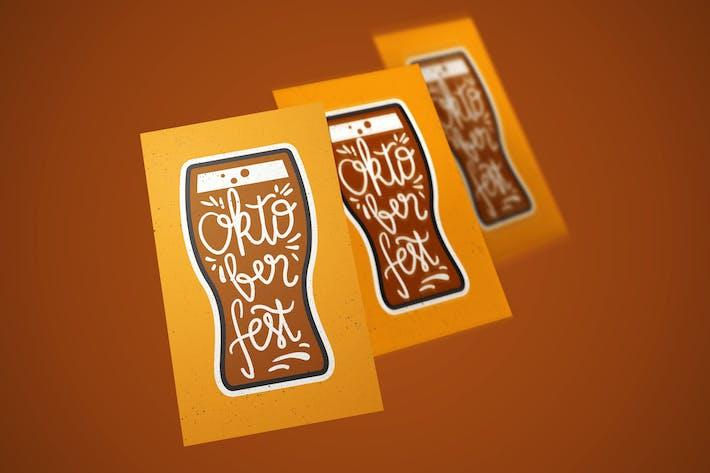 Thumbnail for Oktoberfest Lettering