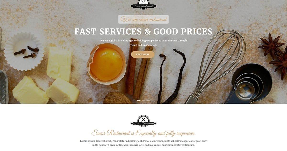 Download Savor - Restaurant, Cafe & Food Drupal 8 Theme by gavias