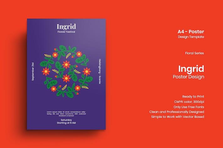 Thumbnail for Ingrid Poster Design