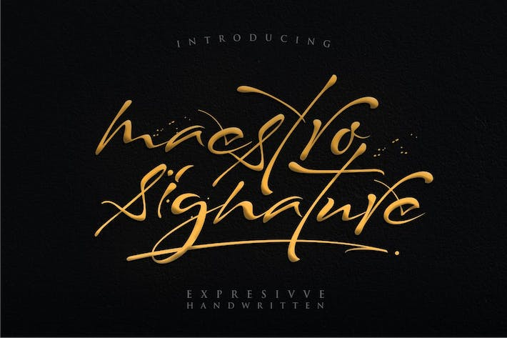 Thumbnail for Maestro Signature