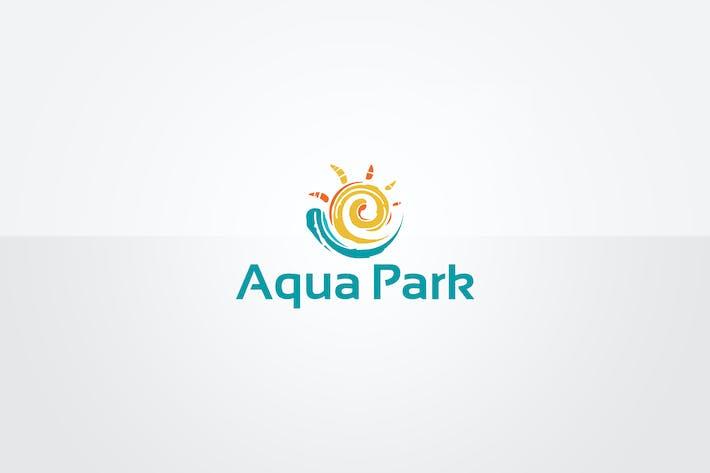 Thumbnail for Aqua Park Logo Template