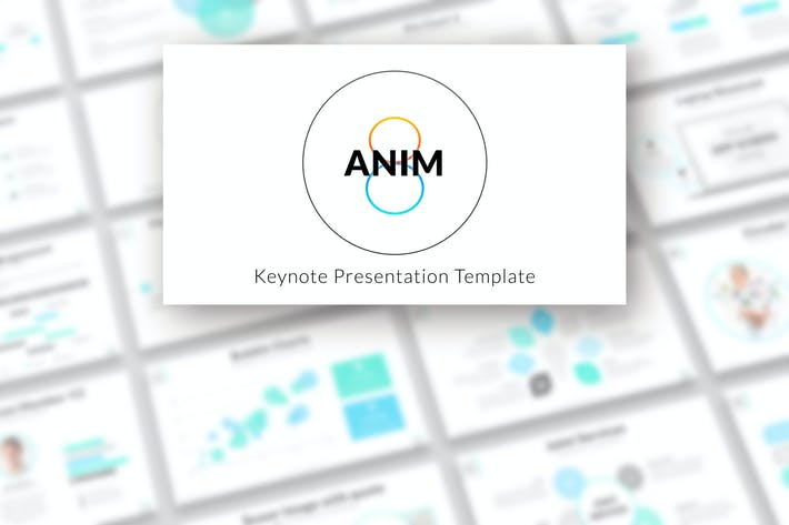 Thumbnail for Anim8 - Keynote Presentation Template