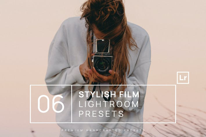 Thumbnail for 6 Stylish Film Lightroom Presets + Mobile
