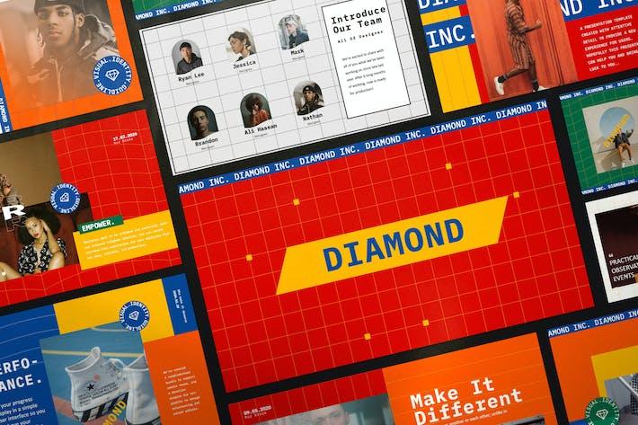 Thumbnail for Diamond - Business Marketing Keynote