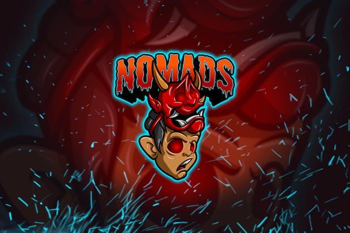 Thumbnail for Nomad Face - Esports & Mascot Logo YR