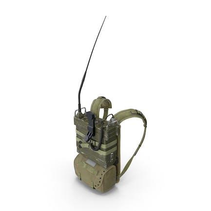 Радио PRC-25 с пакетом