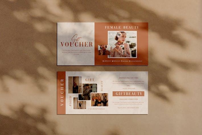 Thumbnail for Female Beauty Voucher