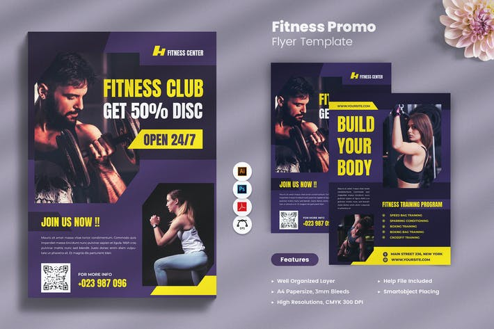Fitness Promo Flyer