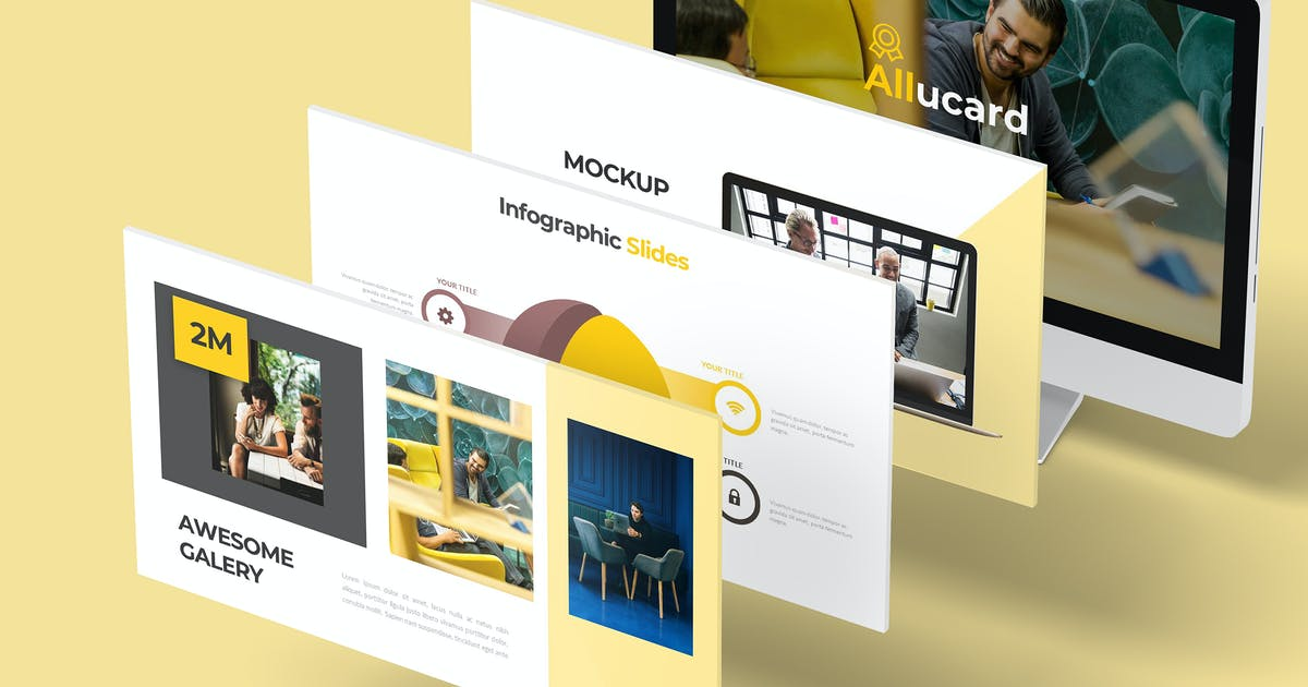 Download Allucard - Google Slides Template by aqrstudio