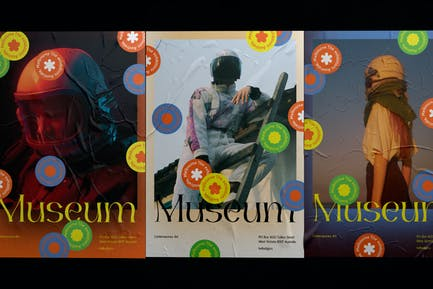 A3 Poster Template – Museum