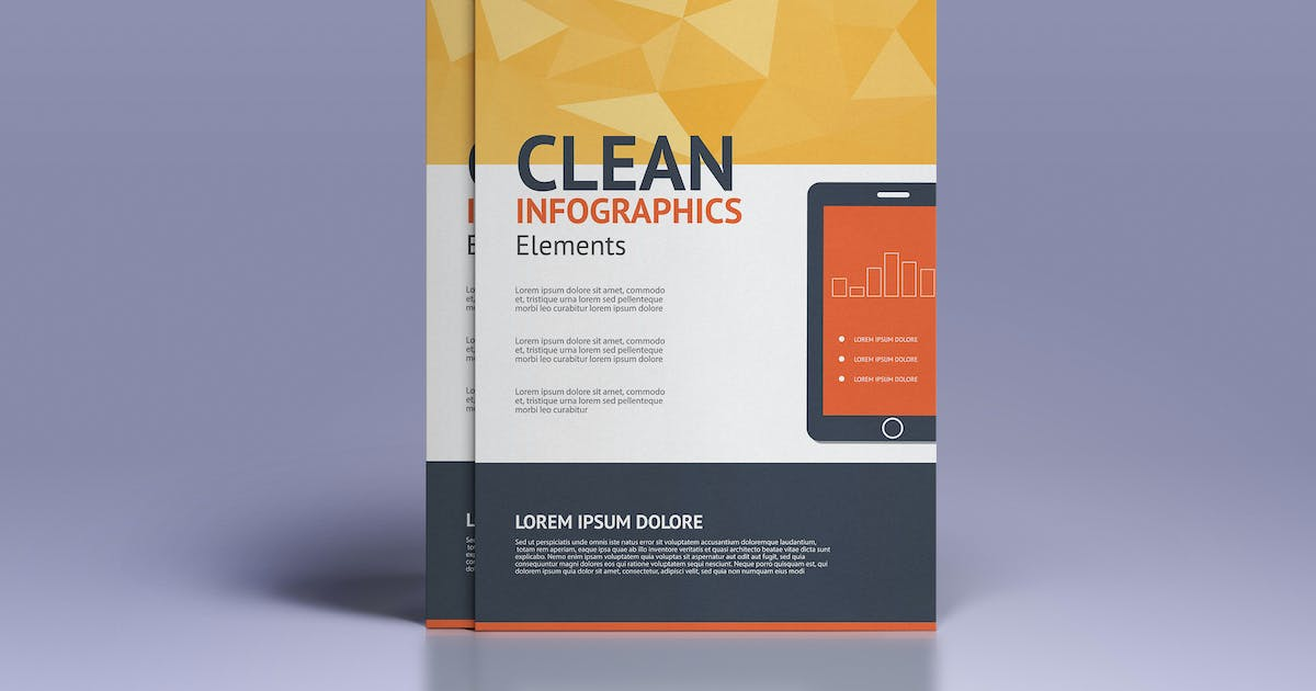 Download Business infographics elements for brochures by graphics4u