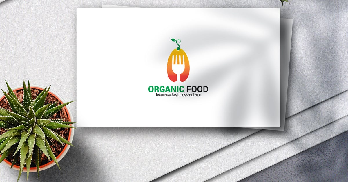 Download Organic Food Logo by Voltury