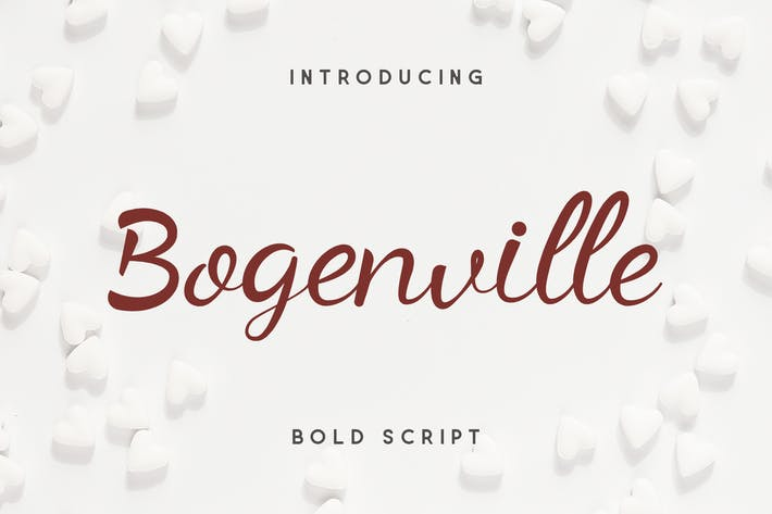 Thumbnail for Bogenville Script Font