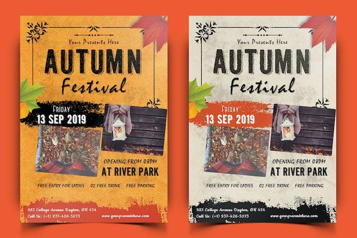 Thumbnail for Autumn Festival Flyer-04