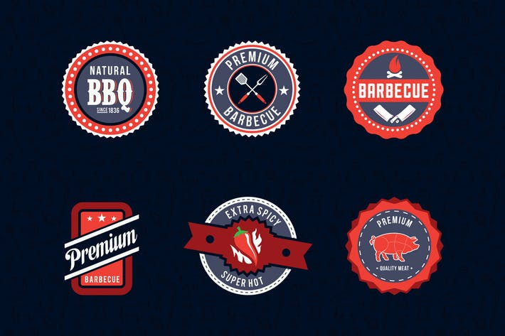Thumbnail for Barbecue Badges