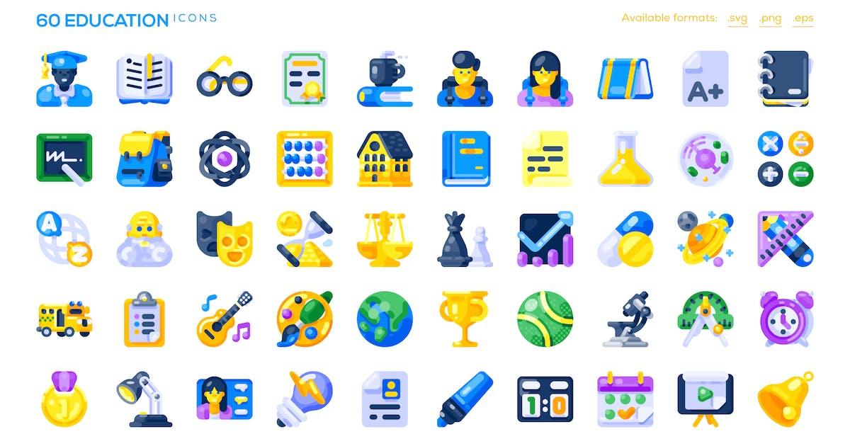 Download 60 Education Icons by lupislegi