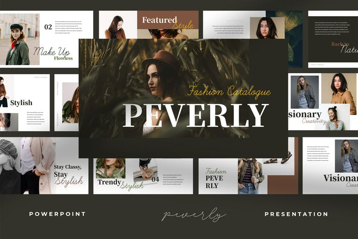 Thumbnail for Peverly - Fashion Catalogue Powerpoint