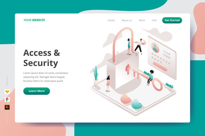 Thumbnail for Access & Security - Landing Page